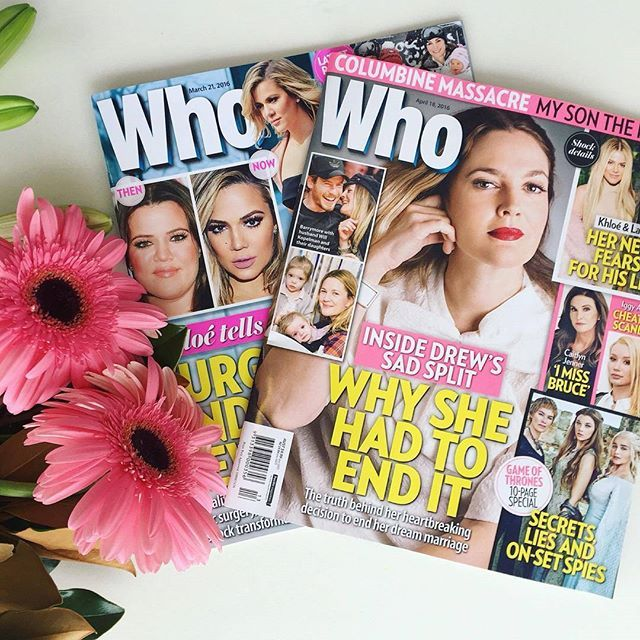 Celebrity news and glamour features weekly in Who!