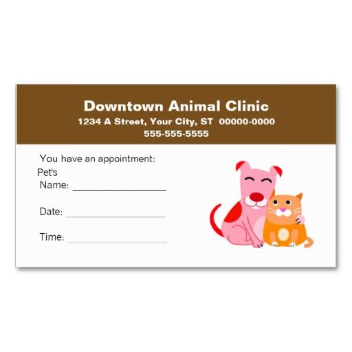 17 Best images about Veterinarian Business Cards on Pinterest ...