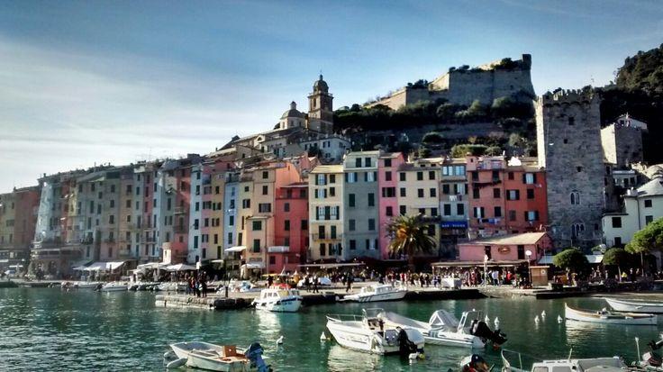 Porto Venere #Liguria #winter #sea #colours