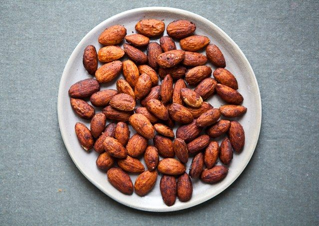 Sweet-and-Spicy Cocktail Almonds