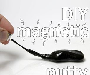 Magnetic Silly Putty via Instructables adds a new element to an old favorite. Cool way to learn a bit about magnetic properties!