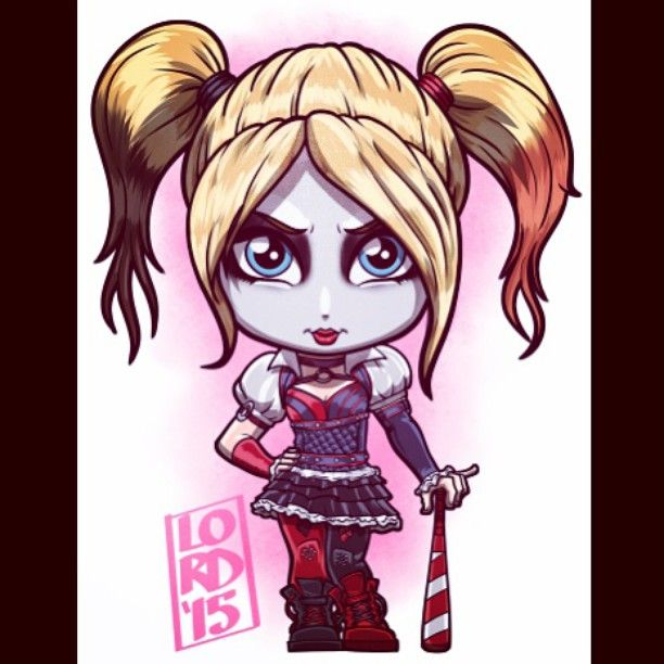 Lordmesa Art — Arkham Knight: Harley Quinn!!!  #ArkhamKnight...