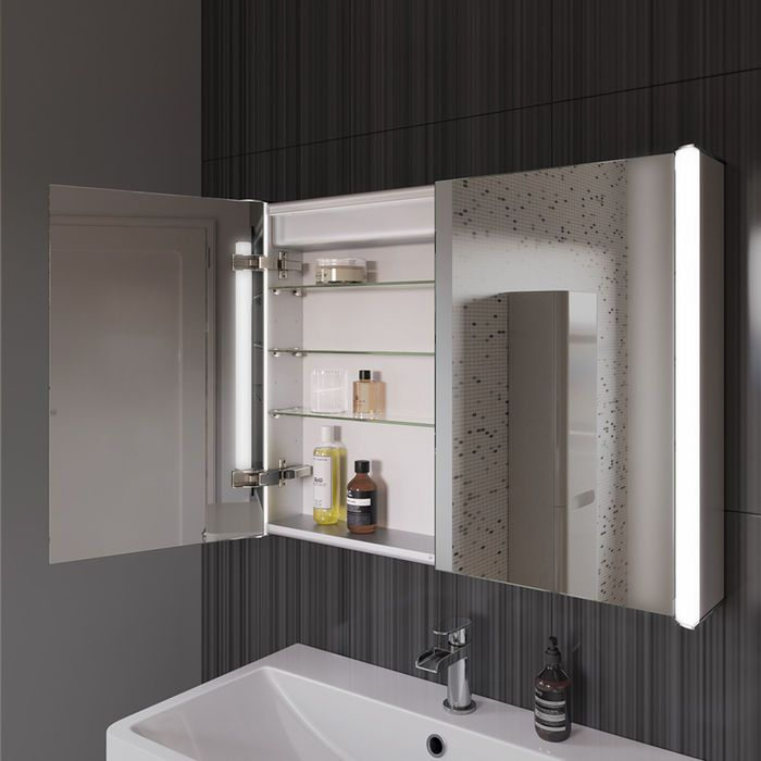 44+ Bathroom mirror cabinets with shaver socket diy