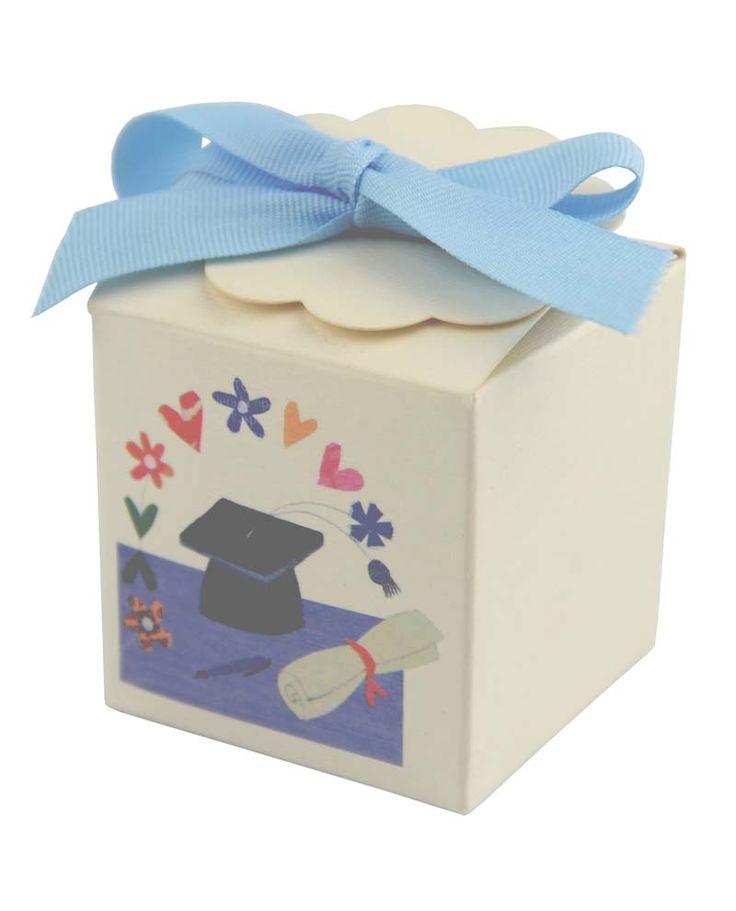 Bomboniera scatolina per laurea (confezioni da 10pz)