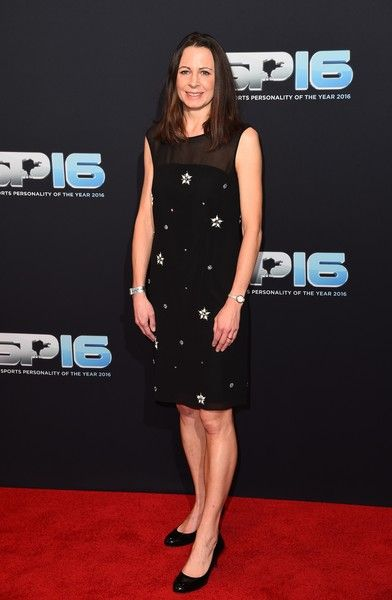 Jo Pavey attends the BBC Sports Personality Of The Year on December 18, 2016 in Birmingham, United Kingdom.