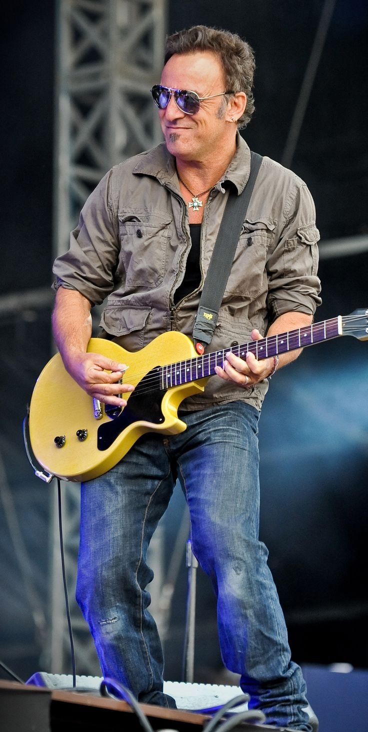 Bruce Springsteen, The Boss at Hard Rock Calling London 2009. #hrcalling