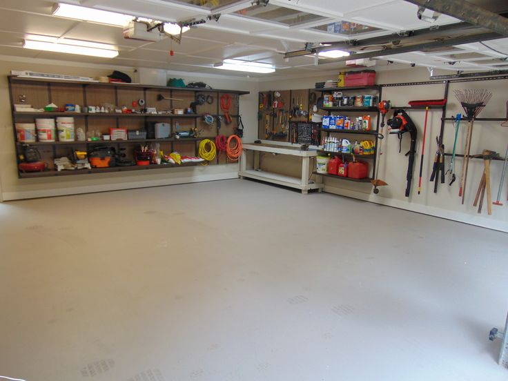 This Customers 2 Car Garage Needed A Makeover He Installed 3 ShoreWall Systems One