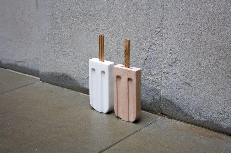 Marble Ice Lolly design by Amen Studio for Casone | www.amen-studio.com
