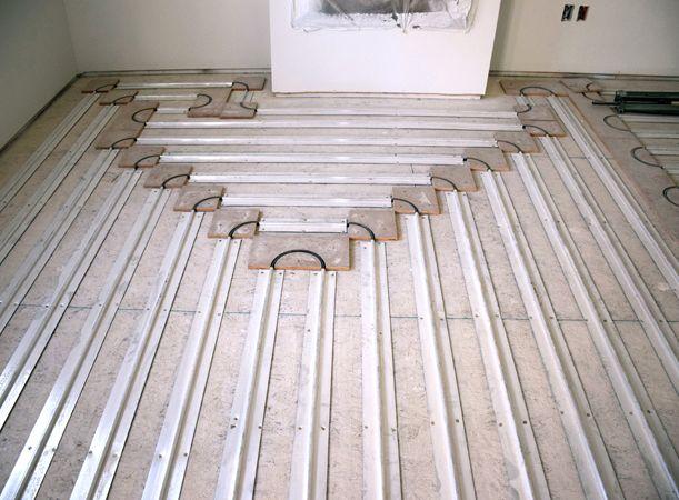 Elegant Basement Floor Heat