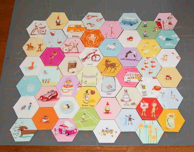 very cute hexies