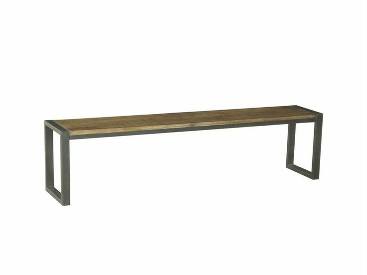 NEW Urban Timber Rustic Industrial Dining Bench Seat Perth Delivery Pick UP