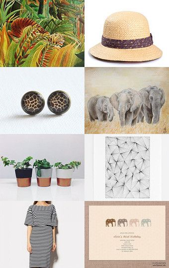 Let's go on a safari! by HuesShop on Etsy--Pinned with TreasuryPin.com