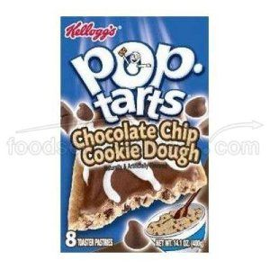 Kellogs Pop Tarts - Chocolate Chip Cookie Dough (400g) - http://handygrocery.org/grocery-gourmet-food/kellogs-pop-tarts-chocolate-chip-cookie-dough-400g-de/