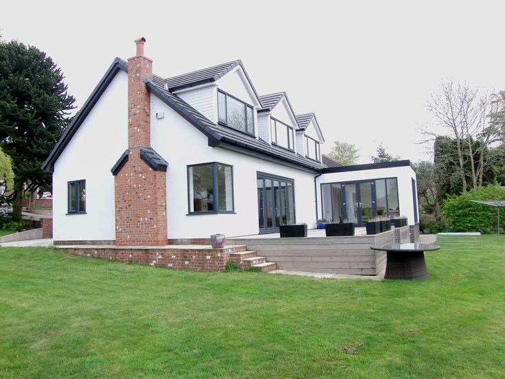 The 25 best ideas about dormer bungalow on pinterest for Bungalow roof styles