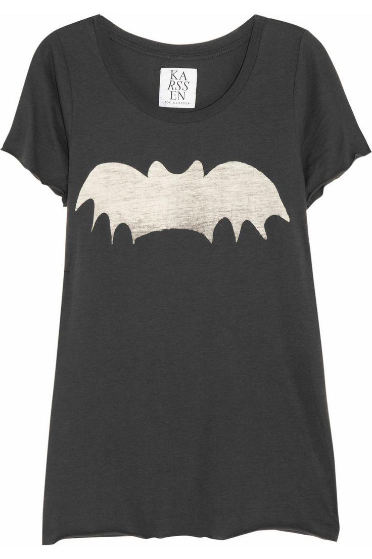 : Zoe Karssen Bats, Fashion Clothing, Fashion Dresses, The Batman, Bleach Pen, Bats Shirts, Batman Tees, Batman Shirts, Bats T Shirts