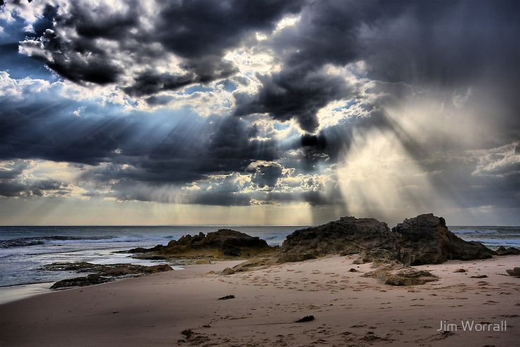 """""""Tempest over the Ocean - Blairgowrie"""" by Jim Worrall   RedBubble"""
