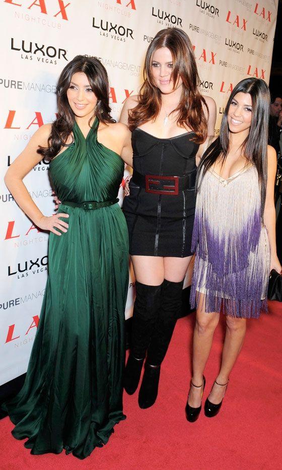 Kim Kardashian Celebrates Her 28th Birthday In Las Vegas, October 2008