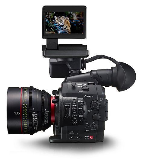 Canon DLC: EOS C500 Menu Simulator