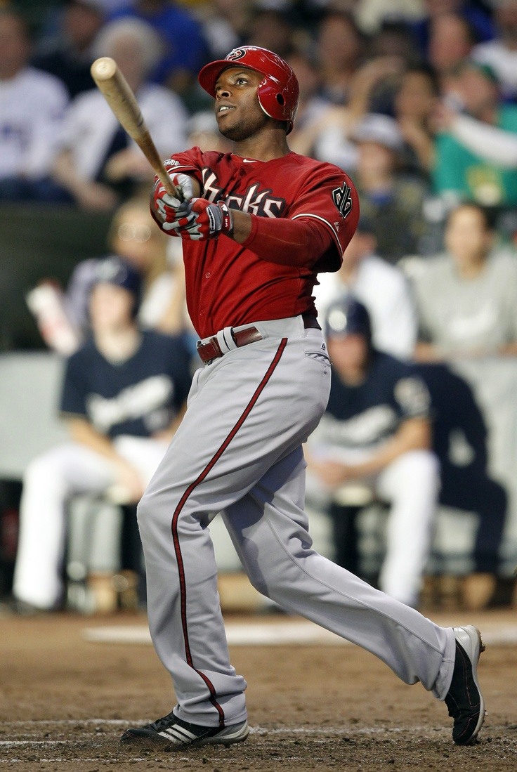 Justin Upton blasts a two-run homer in Game 2 of the NLDS vs. the Brewers.