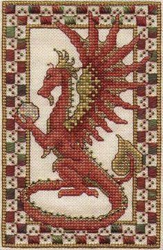 Dragon Free Cross Stitch Pattern