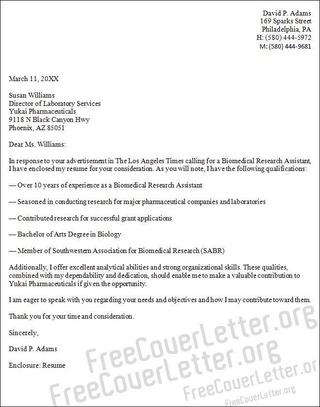 letter examples science lab cover biology teacher application resume waitress job