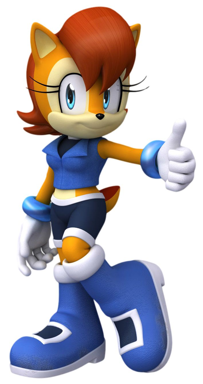 Sally acorn sonic news work pictures to pin on pinterest - My Custom Version Of Sally In Sonic Boom Original Sally Artwork Created By Rafaela Knight