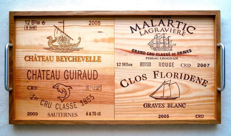 Awesome examples of beautiful wine crate tablets! #DIY #inspiration
