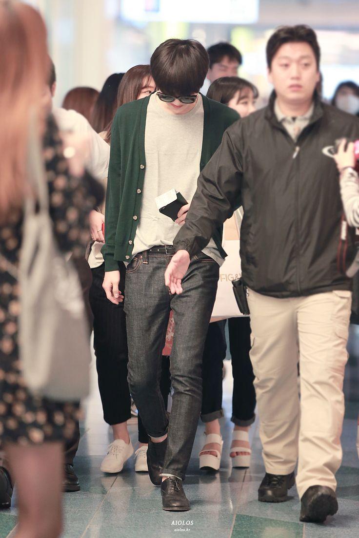 150420- EXO Oh Sehun; Haneda Airport to Gimpo Airport #exok #fashion #style