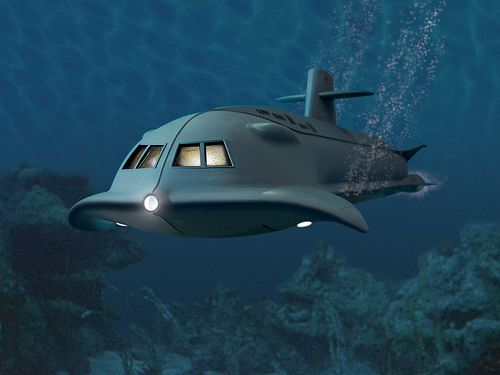 Voyage To The Bottom of the Sea/The Seaview/Irwin Allen production