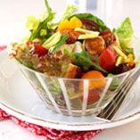 Kyllingesalat - Opskrifter    http://www.dansukker.dk/dk/opskrifter/kyllingesalat.aspx  #salat #kylling #sommer #dansukker #opskrift