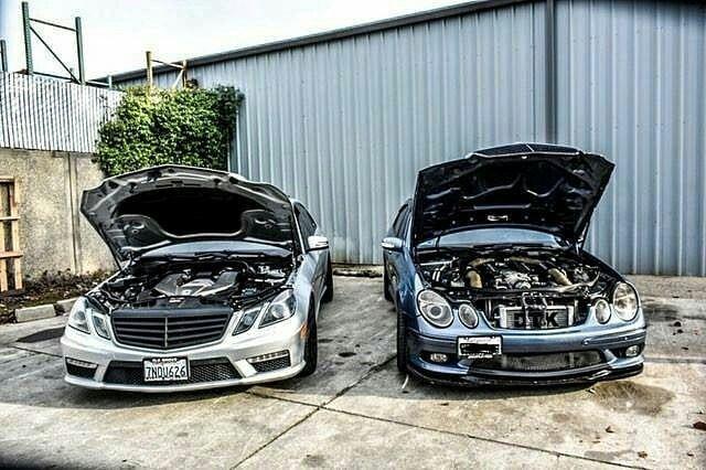 Mercedes E63 W212 / E55 W211 AMG