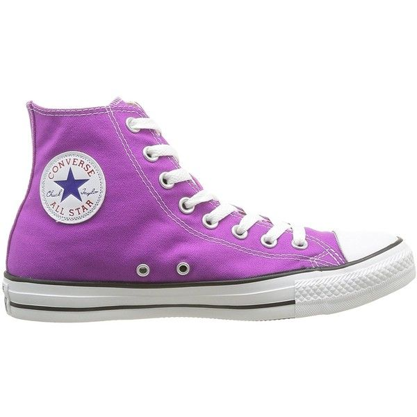 e4d07eec10522 Amazon.com | Converse All Star Unisex Shoes Hi Top Purple Cactus ...