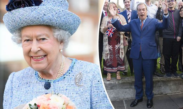 Arise Sir Nige! Queen urged to honour Farage in Birthday Honours for 25 years Brexit work