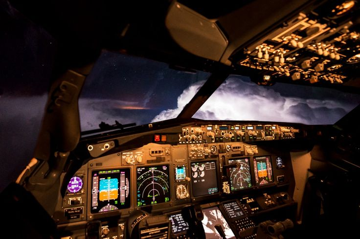 During our flight from Mallorca back to Amsterdam, we encountered some very active thunderstorms. We where able to cross the storms at FL360. It was magnificent! We just crossed between 2 active cells, lightning was all around the clouds. * there is a relative high amount of noise, but it wasn't possible to capture the...