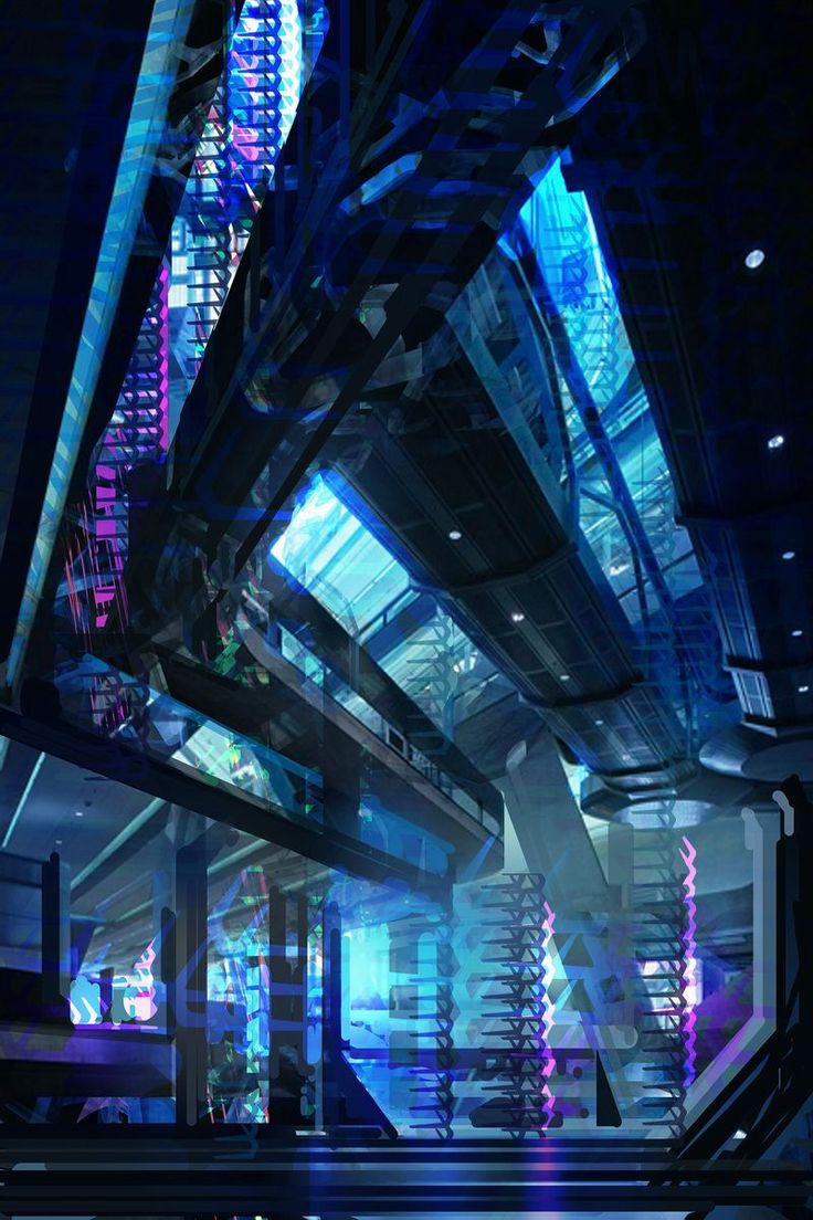1753 best images about space on pinterest for Cyberpunk interior design
