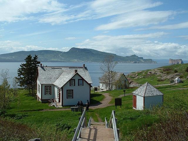 île Bonaventure, off the Gaspé Peninsula by chibeba, via Flickr