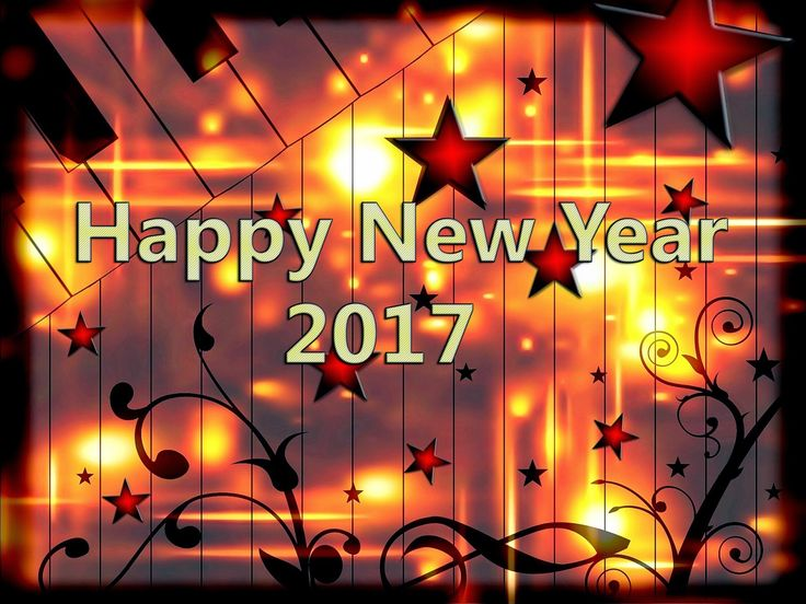 Nice Happy New Year 2017 Wallpapers Fire Works