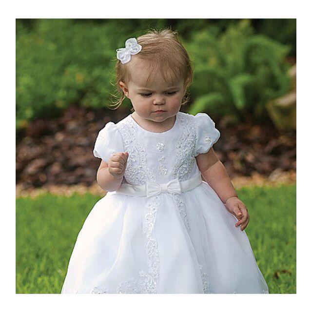 Too cute flower girls dress, or christening wear? Absolutely stunning.