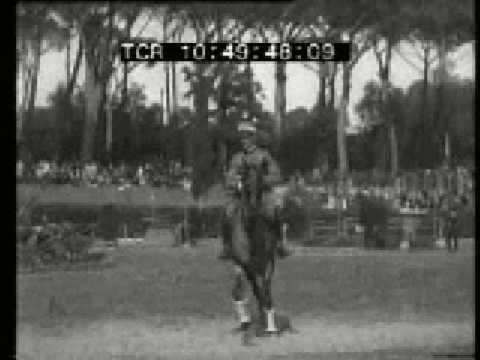 Equitazione salto ostacoli P. di Siena 1930