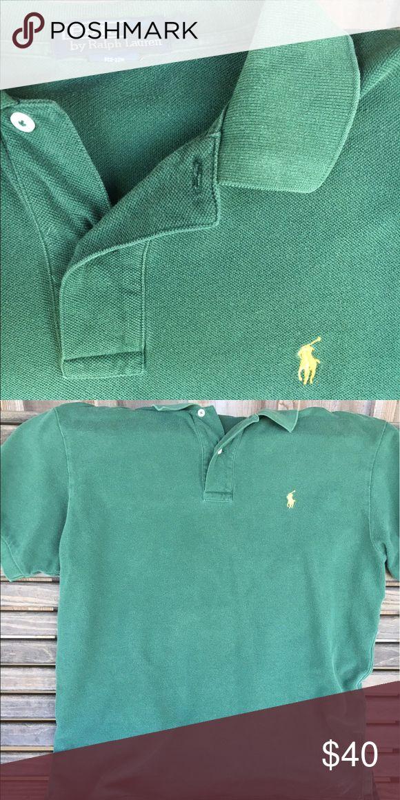 Men's Large Green Ralf Lauren Polo Mint Condition! Polo Ralf Lauren Polo. Men's Large. Dark green! Polo by Ralph Lauren Shirts Polos