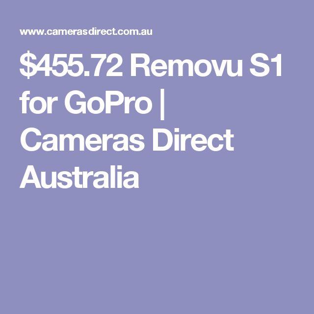 $455.72 Removu S1 for GoPro | Cameras Direct Australia