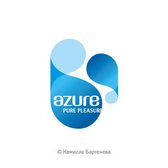 Камилла Бартенева — Логотип Spa-отеля Azure