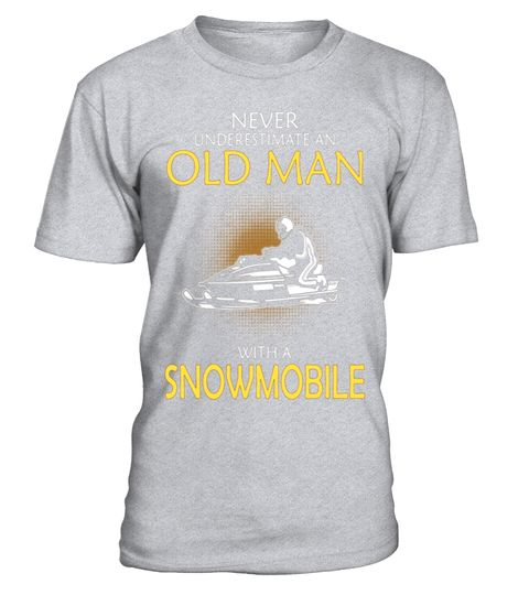 "# Never Underestimate An Old Man With A Snowmobile T-Shirt .  Special Offer, not available in shops      Comes in a variety of styles and colours      Buy yours now before it is too late!      Secured payment via Visa / Mastercard / Amex / PayPal      How to place an order            Choose the model from the drop-down menu      Click on ""Buy it now""      Choose the size and the quantity      Add your delivery address and bank details      And that's it!      Tags: Snowmobile clothing…"