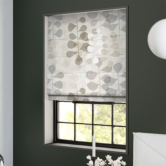 Blooming Meadow Linen Neutral Roman Blind%20from%20Blinds%202go
