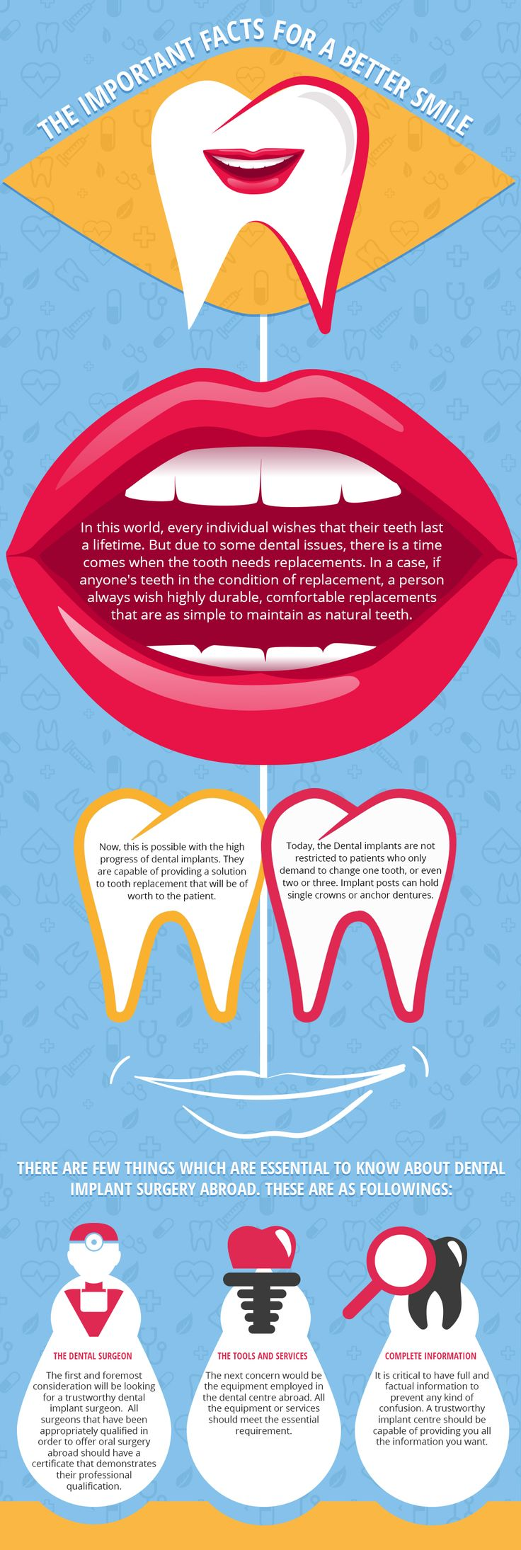 The-Important-Facts-For-A-Better-#Smile--- In this infographic you would learn about the facts as well you will get tips for a better smile.