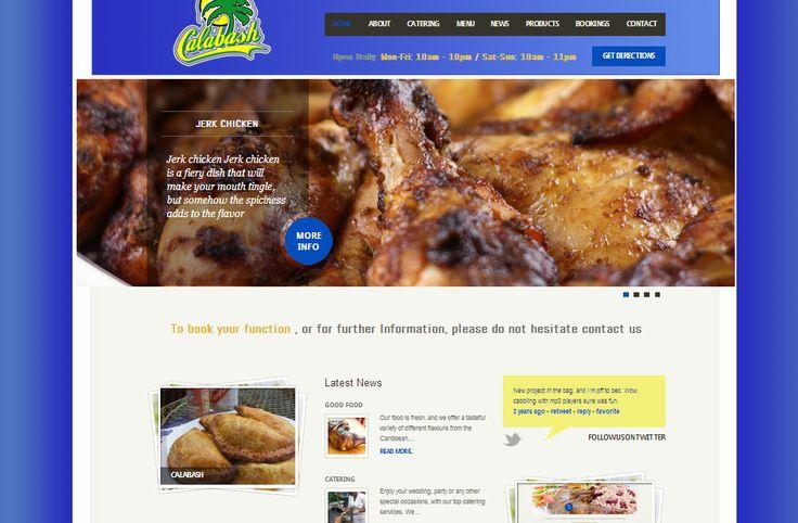 Calabash cuisine website