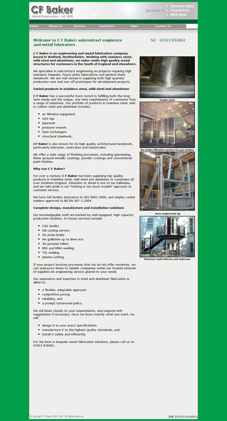 C F Baker Ltd Steel Fabricators & Erectors 11 Greenhill Cresent   Watford Hertfordshire WD18 8JH | To get more infomration about C F Baker Ltd, Location Map, Phone numbers, Email, Website please visit http://www.HaiUK.co.uk
