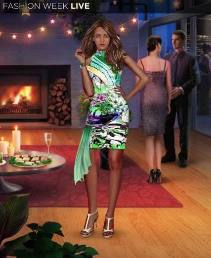 Check out the fun new Spring Green Print Dress just added in the shop! A great way to brighten up a party! Tell us where you'd wear this lively dress?