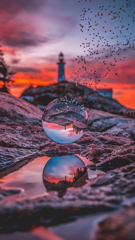 Reflet de phare – #de #miroir #phare #reflet