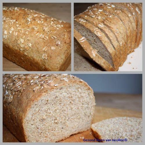 Zelfgebakken speltbrood met semolina   Soms lijkt het hier wel een klein bakkerijtje en zeker als het bijna weekend is. Dan bak ik dit ...